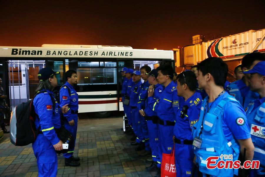 Blue Sky rescuers fly to Nepal for assistance (2/3)